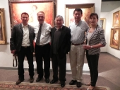 4-zhiwei-tu-and-his-son-dan-with-bob-xiang-zhang-and-his-wiife-at-show