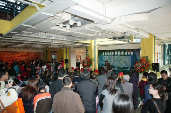 2 The Ceremony of Zhiwei Tu Art Exhibition on 1 13, 2007