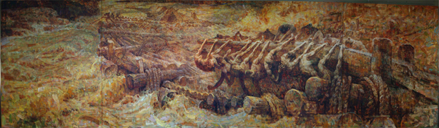 01 Hands, Rafts, Yellow River